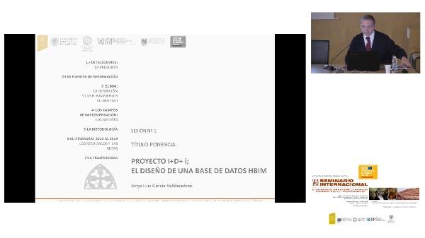 SEMINARIO INTER. DE ESTUDIO E INVESTIGACIÓN SOBRE EL RECONOCIMIENTO, LA REVALORIZACIÓN, LA CONSERVACIÓN Y EL RE-USO DEL PATRIMÓNIO ARQUITECTÓNICO.Jorge García Valldecabres