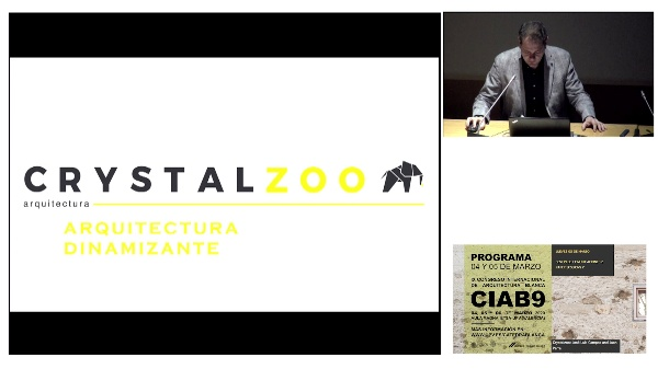 CIAB9.COMUNICACIONES 2. (JUEVES 5 MAÑANA). Crystalzoo- José Luis Campos and Juan Parra.