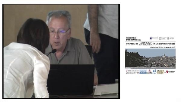 SEMINARIO INTERNACIONAL ESTRATEGIAS INTERVENCIÓN CONSERVACIÓN EN LOS CENTROS HISTORICOS. JOAN OLMOS
