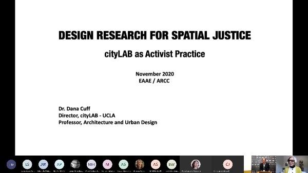 EAAE-ARCC.11.19.MAG.Keynote Lecture: Dana Cuff