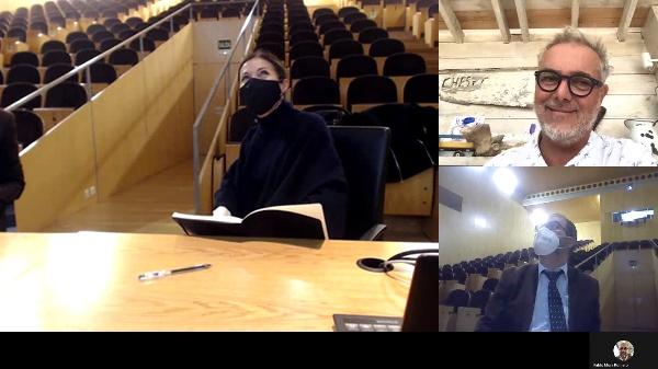 Winter Intersession. Conferencia .MATHIAS KLOTZ _Obras escogidas_.