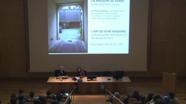 MARY JHONSON. LA MAISON DE VERRE: PROLEGOMENAS TO L'ART DE VIVRE MODERNE