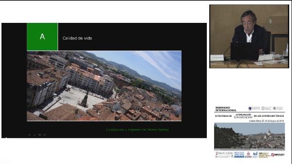 SEMINARIO INTERNACIONAL ESTRATEGIAS INTERVENCIÓN CONSERVACIÓN EN LOS CENTROS HISTORICOS. GONZALO ARROITA