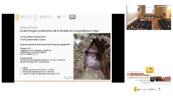 SEMINARIO INTER. DE ESTUDIO E INVESTIGACIÓN SOBRE EL RECONOCIMIENTO, LA REVALORIZACIÓN, LA CONSERVACIÓN Y EL RE-USO DEL PATRIMÓNIO ARQUITECTÓNICO.Laura Gilabert.