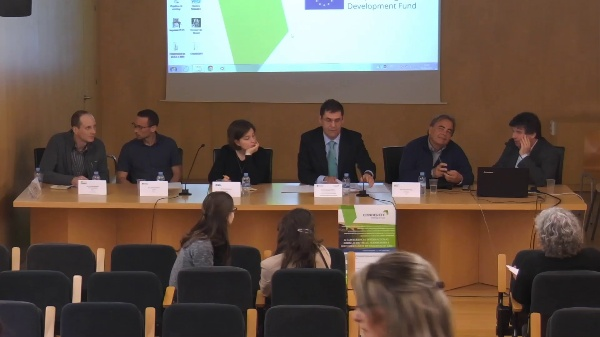 CONDEREFF Interreg Europe. Mesa redonda debate segunda sesión.