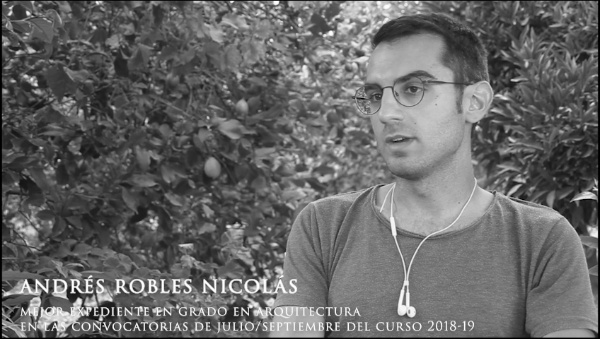 Final  de curso 2019-2020 Escuela Técnica Superior de Arquitectura. Andrés Robles Nicolás