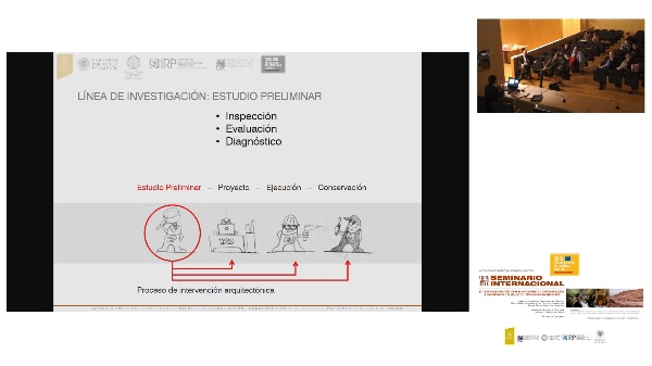 SEMINARIO INTER. DE ESTUDIO E INVESTIGACIÓN SOBRE EL RECONOCIMIENTO, LA REVALORIZACIÓN, LA CONSERVACIÓN Y EL RE-USO DEL PATRIMÓNIO ARQUITECTÓNICO.José L. Alapont .