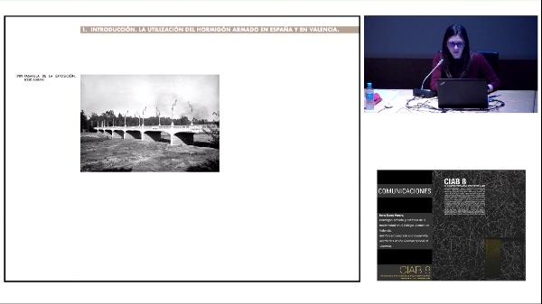 CIAB 8. COMUNICACIONES.Irene Benet Morera. Hormigón armado y estética de la modernidad en el Colegio Alemán de Valencia.