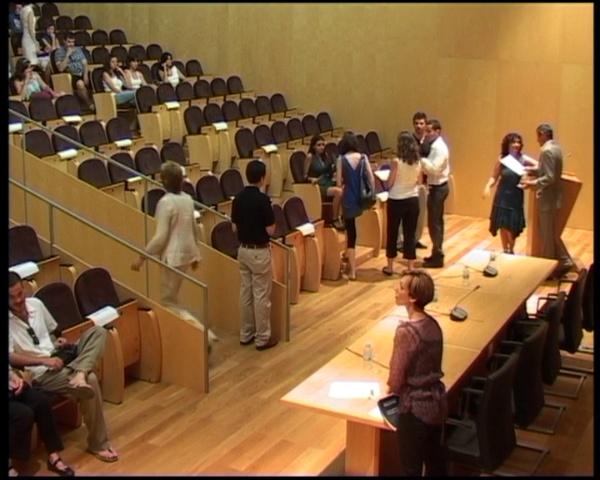 ACTO DE CLAUSURA CURSO ACADÉMICO 2011-2012