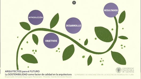 SEMINARIO DE INNOVACIÓN EN LA DOCENCIA DE ARQUITECTURA. ARQUITECTOS PARA EL FUTURO.