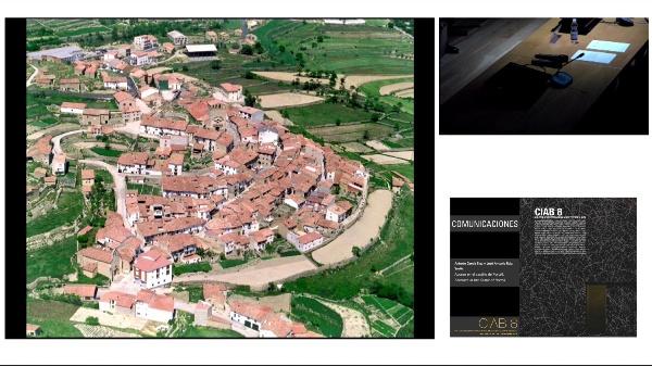 CIAB 8. COMUNICACIONES.Antonio García Blay y José Antonio Ruiz Suaña. Acceso en el castillo de Portell. Entrance in the Castle of Portell.