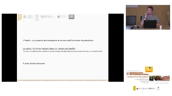 SEMINARIO INTER. DE ESTUDIO E INVESTIGACIÓN SOBRE EL RECONOCIMIENTO, LA REVALORIZACIÓN, LA CONSERVACIÓN Y EL RE-USO DEL PATRIMÓNIO ARQUITECTÓNICO.Javier Gómez-Patrocinio.