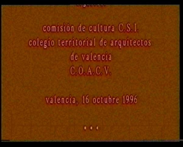 V-846. E.MIRALLES COAV-1996.PARQUE Y CENTRO SOCIAL TEATRO REAL