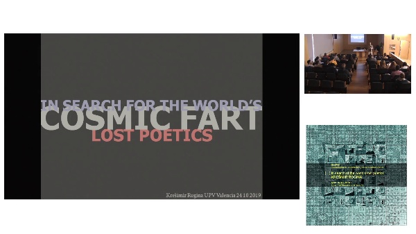 [...] IN SEARCH OF THE WORLD'S LOST POETICS. Kre¨imir Rogina. (24/10/19.Session Mañana).