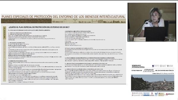 SEMINARIO INTERNACIONAL ESTRATEGIAS INTERVENCIÓN CONSERVACIÓN EN LOS CENTROS HISTORICOS.INÉS ESTEVE, NURIA MOYÁ , VICENTE CALABUIG