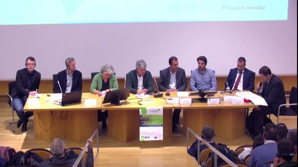 CONDEREFF Interreg Europe. Mesa redonda debate primera sesión.