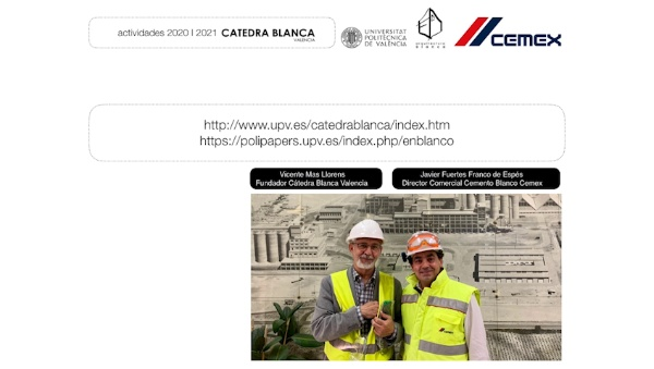 Final de curso 2019-2020 Escuela Técnica Superior de Arquitectura. Catedra Blanca VLC .LAURA LIZONDO.