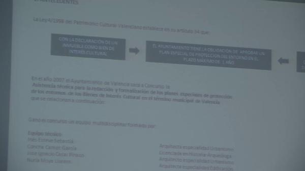 Inés Esteve Sebastia y Nuria Moya Llorens .Los Planes Especiales de Protección de los Entornos de Bienes de Interés Cultural de la ciudad de Valencia.
