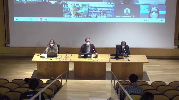 1.[MYF9].Inauguración de las Jornadas y Conferencia. Ingrid Taillandier  .