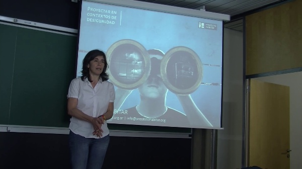 EUGENIA JAIME. PROYECTAR EN CONTEXTOS DE DESIGUALDAD. MAAPUD