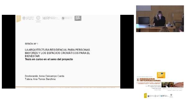 SEMINARIO INTER. DE ESTUDIO E INVESTIGACIÓN SOBRE EL RECONOCIMIENTO, LA REVALORIZACIÓN, LA CONSERVACIÓN Y EL RE-USO DEL PATRIMÓNIO ARQUITECTÓNICO.Anna Delcampo.
