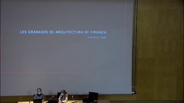JUAN CALDUCH. LA MODERNIDAD DE PIRANESIS.