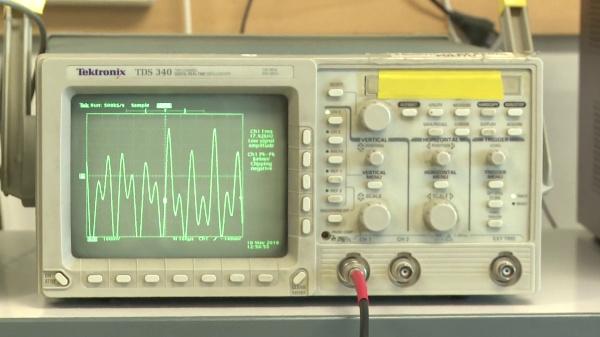 Captura y medida de una señal compleja con el osciloscopio