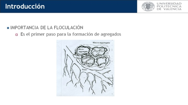 Efecto del sodio y el calcio sobre la estructura del suelo