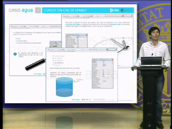 Curso básico de EPANET, Análisis de redes de agua con EPANET
