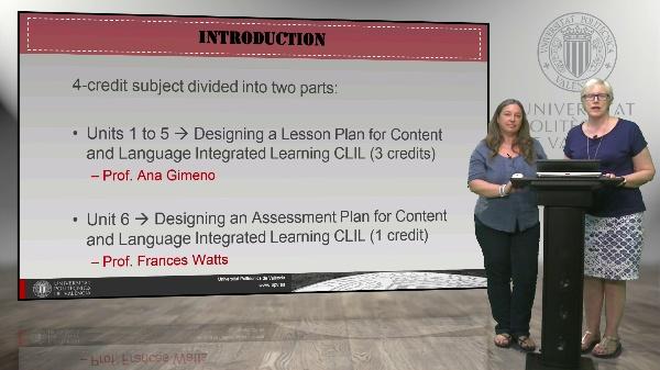 Asignatura 12. Creación de unidades didácticas para el aula AICLE.