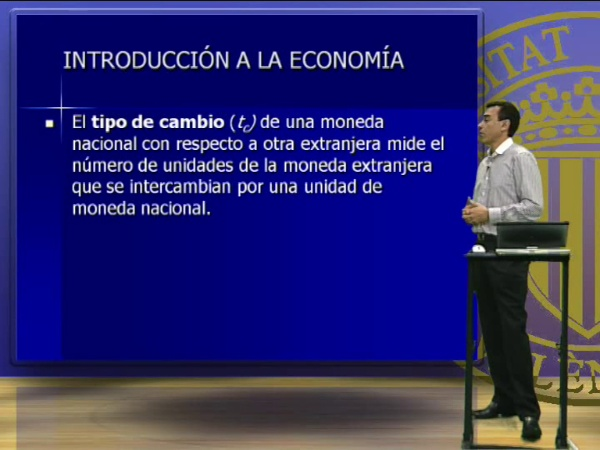 El comercio exterior y los tipos de cambio