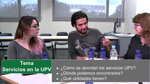 Primera reunión. Servicios de la UPV