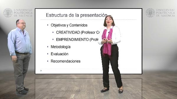 Creatividad y emprendimiento, presentación