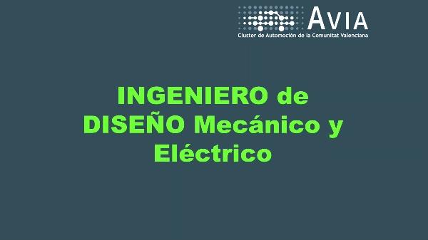 AVIA Perfiles. Ingeniero de diseño mecánico y eléctrico