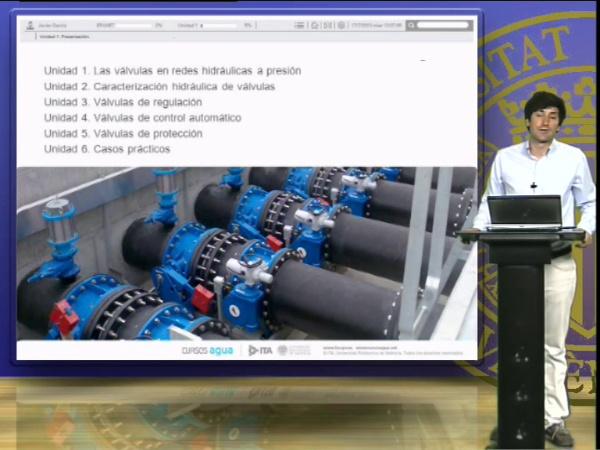 Módulo de especialización de EPANET, selección, dimensionado y utilización de válvulas en EPANET
