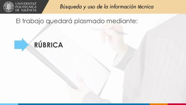 BP01 Búsqueda y uso de la información técnica - La Evaluación