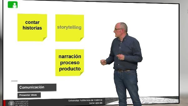 Presentar una idea: Contar una historia