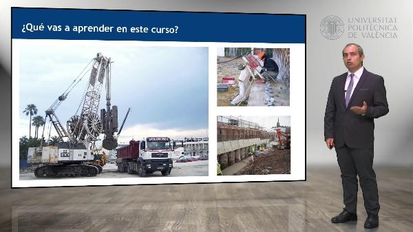 Procedimientos de construcción de cimentaciones y estructuras de contención en obra civil y edificación