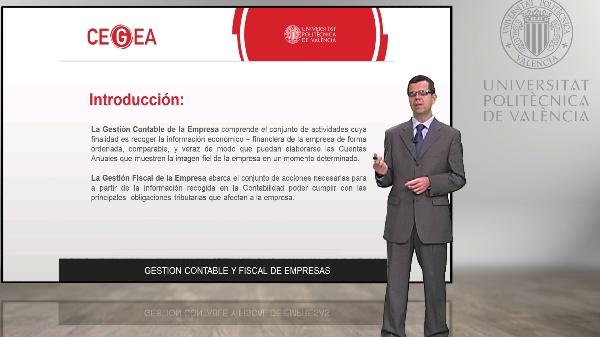 Presentación Módulo, Gestión Contable y Fiscal de Empresas