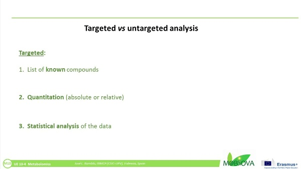 Non-targeted analysis of a GC-MS chromatogram