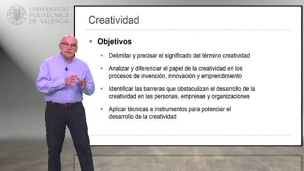 Módulo Creatividad y Emprendimiento. Presentación