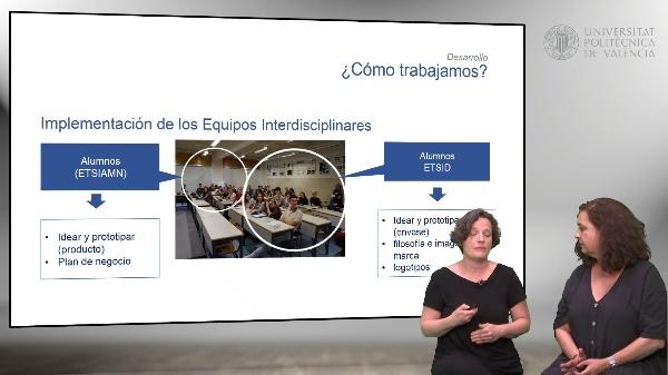 Experiencia interdisciplinar entre ETSIAMN y ETSID