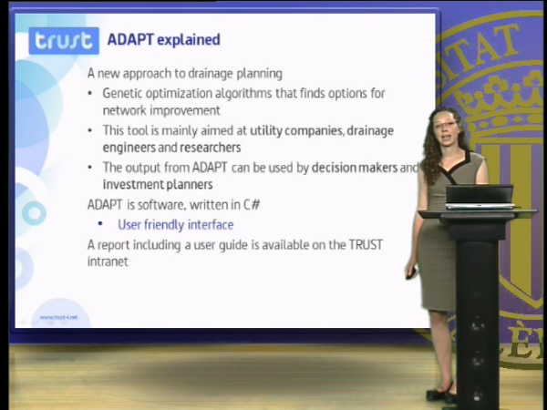 ADAPT - A drainage analysis and planning tool