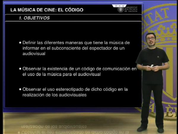 La música de cine: El código