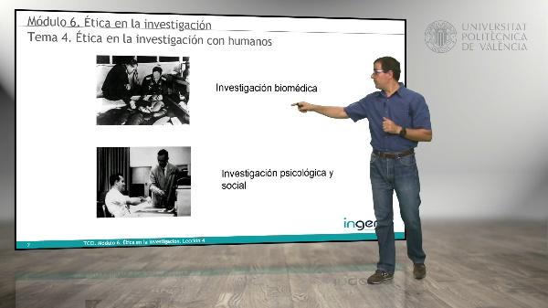 Ética en la investigación con humanos
