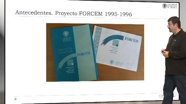 Proyecto observatorio UPV. Antecedentes.