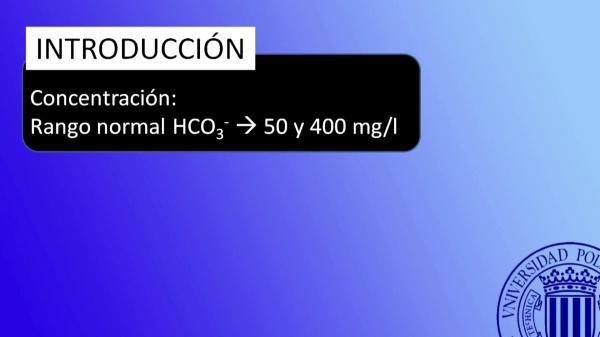 Determinación en aguas de Carbonatos y Bicarbonatos