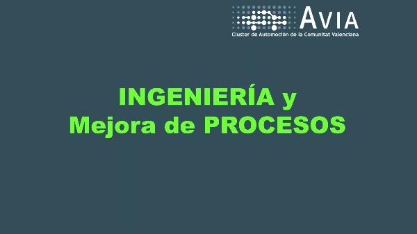 AVIA Perfiles. Ingeniería y mejora de procesos