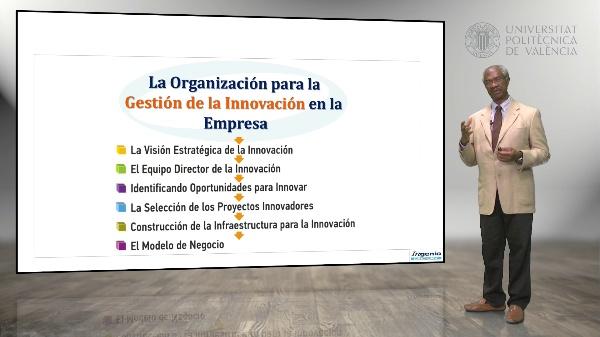 Organización para la gestión de Innovación en la Empresa