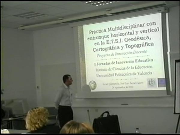Comunicación 13, Práctica multidisciplinar con entronque horizontal y vertical en la ETSIGCT de la UPV (JIE)